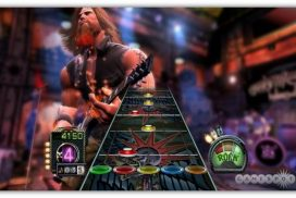 Guitar Hero – interaktywna gra wideo z instrumentami